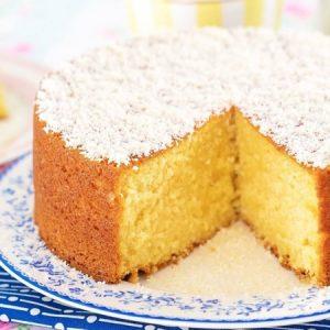 Sour Cream Coconut Pound Cake