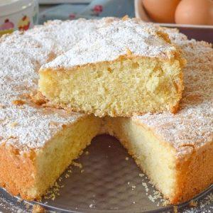 Simple Egg Sponge Cake
