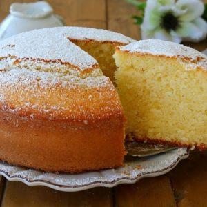 Classic Lemon Oil Cake
