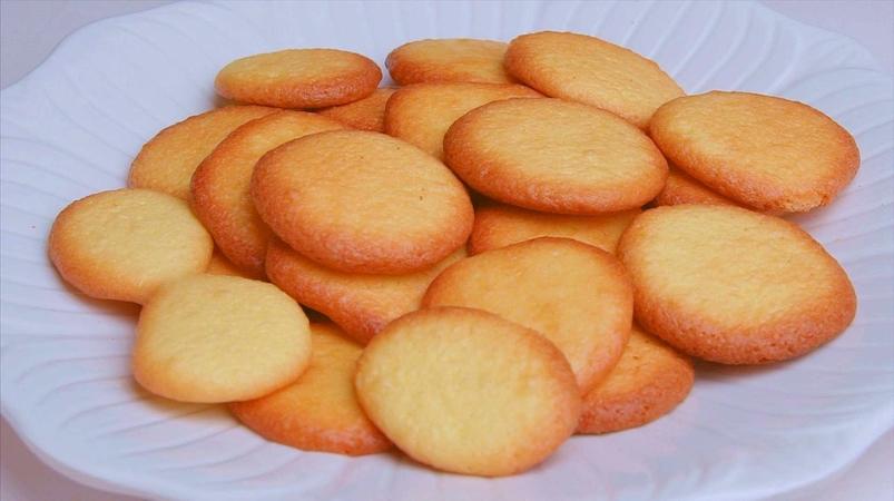 Egg Yolk Cookies