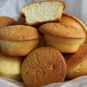 Butter Cake Muffins