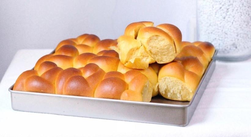 Buttersoft Pumpkin Bread Rolls