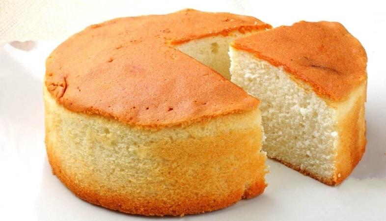 Fluffy Butter Sponge Cake