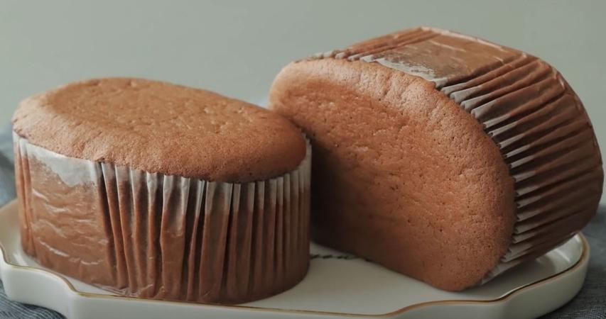 Chocolate Honey Castella Cake