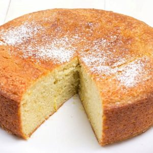 One bowl Eggless Vanilla Cake