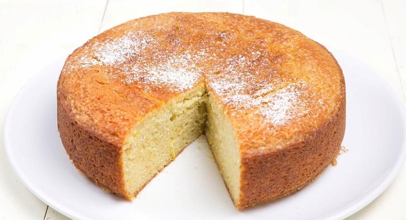 One bowl Eggless Vanilla Cake
