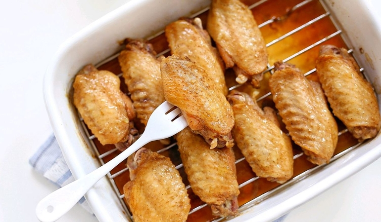 Salt Baked Chicken Wings