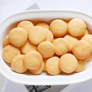 Crispy Egg Biscuits