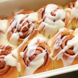 Warm and Sweet Cinnamon Rolls