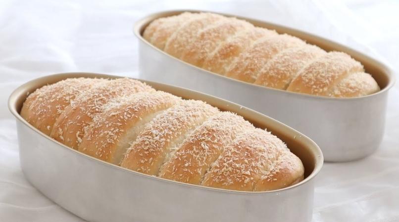 Coconut Milk Bread Loaf