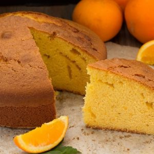 Super Fluffy and Moist Orange Cake