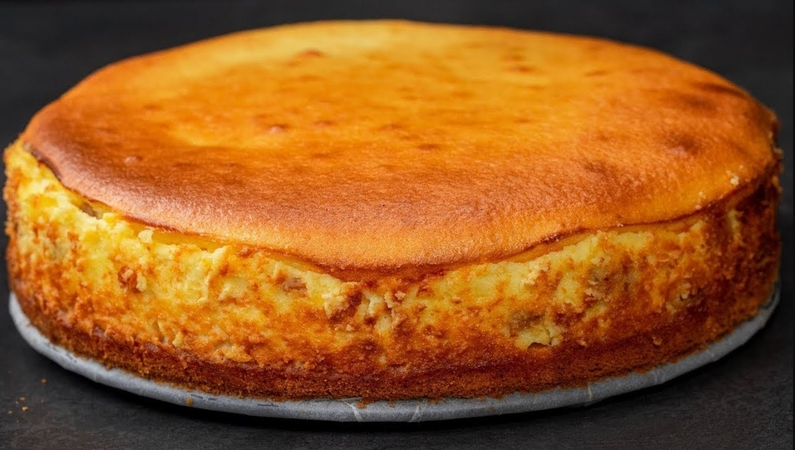 Cottage Cheese Creamy Cake