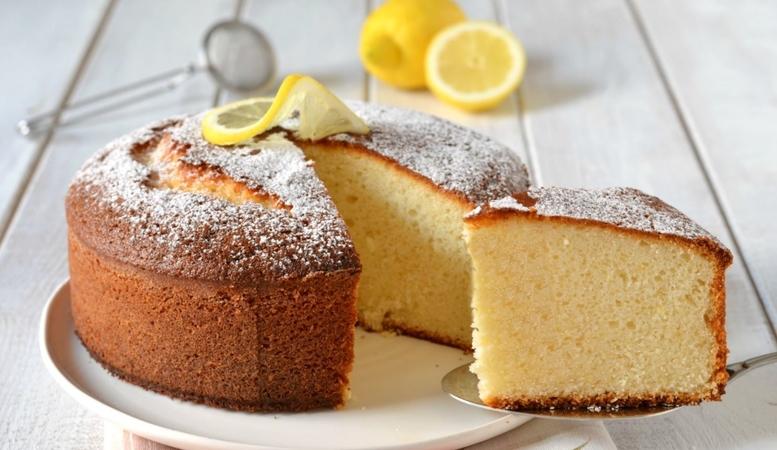 Moist Lemon Genoise Cake