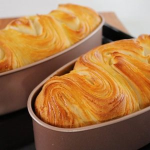 Puff Pastry Butter Bread